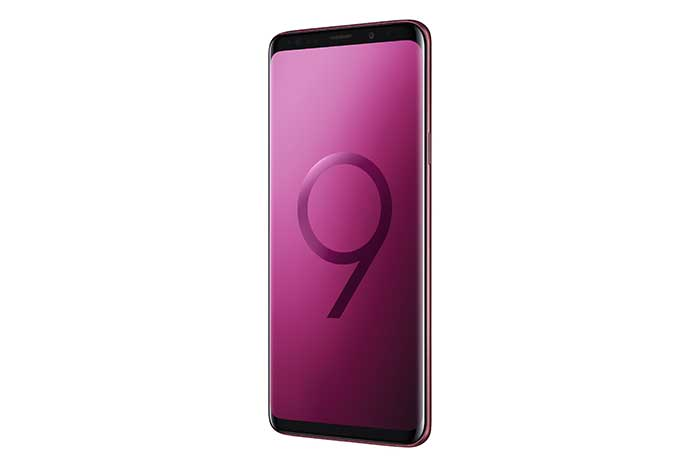 Samsung Galaxy S9 Plus Burgundy Red
