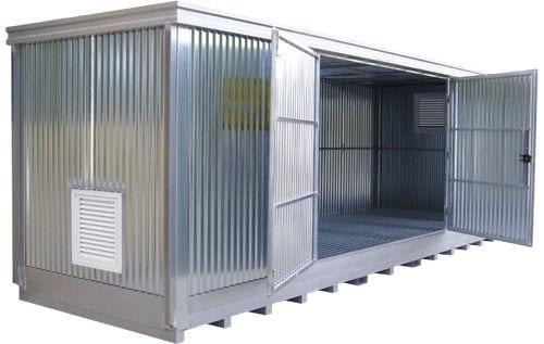 Steel Conex Box