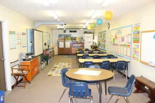 Classroom Trailer - Inside View