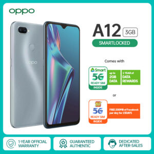 OPPO A12 Smart-locked Version 3GB RAM 32GB ROM Data-locked To Smart Cellphone 6.2inch 13MP Al Dual Camera 4230mAh Battery Smartphone