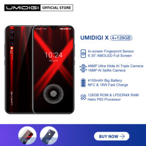 UMIDIGI X Cellphone Global Version