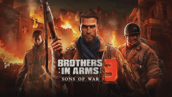 game perang android: Brothers in Arms 3