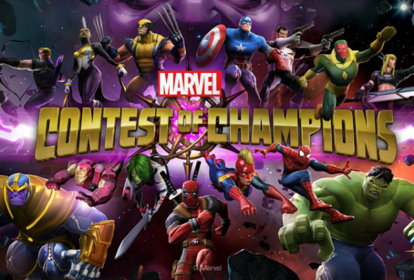 game fighting android: Marvel Contest of Champions