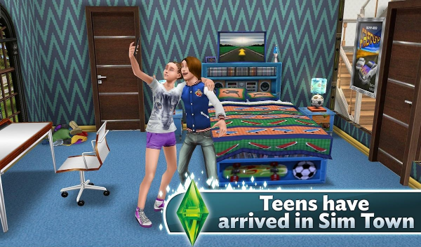 game simulasi android: The Sims FreePlay