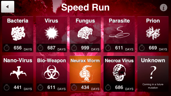 game simulator android: Plague Inc.