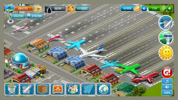 Airport City Android Tycoon Game