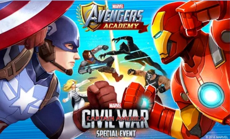 game marvel android: Marvel Avengers Academy