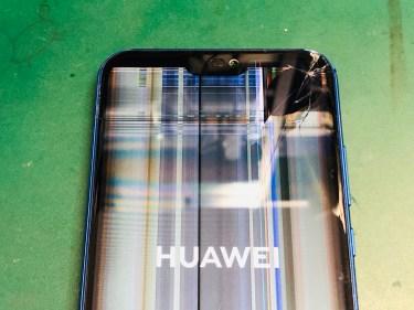 Huawei P20 lite 画面割れ修理