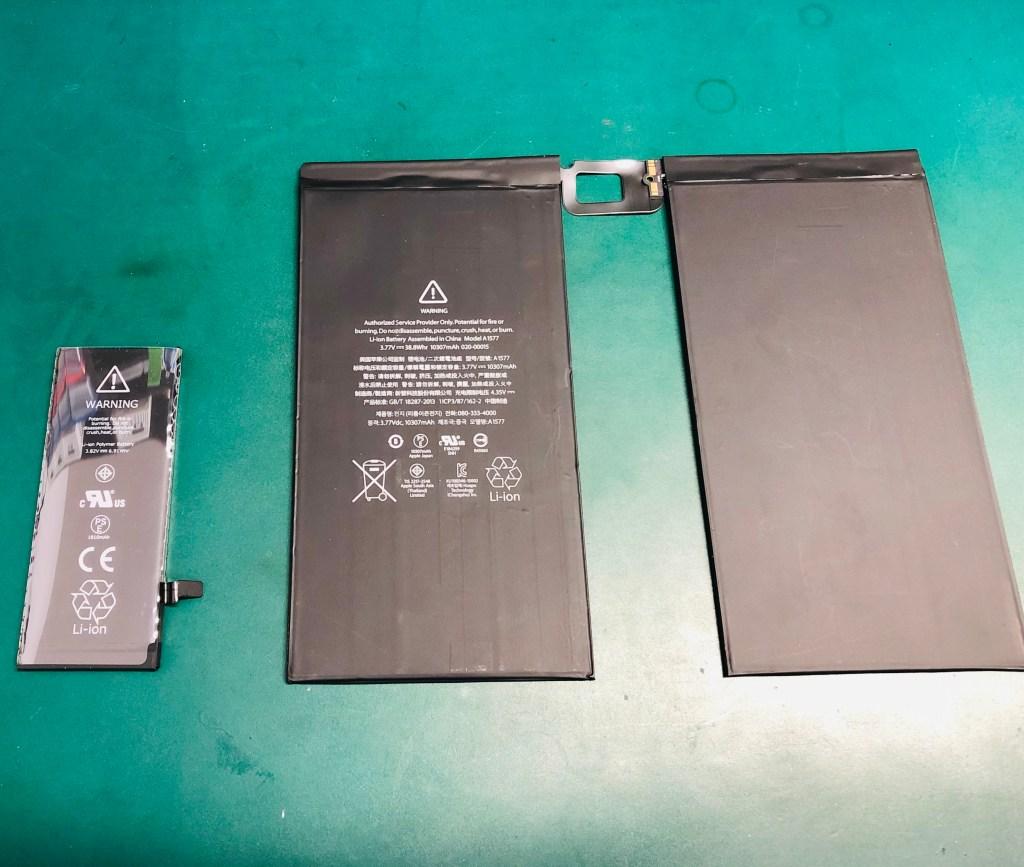 iPadPro12.9 バッテリー
