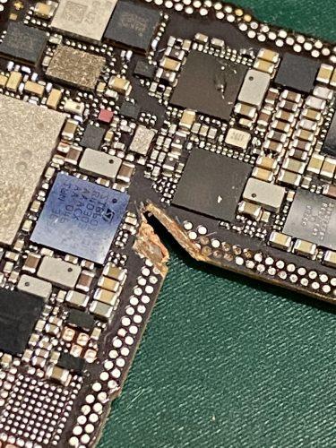 iPhone12 基板修理 データ復旧