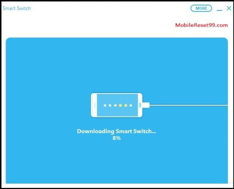 Downloading smart switch app