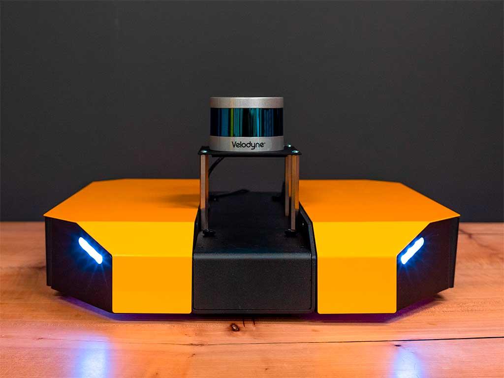 Clearpath Dingo Robot with Velodyne LIDAR