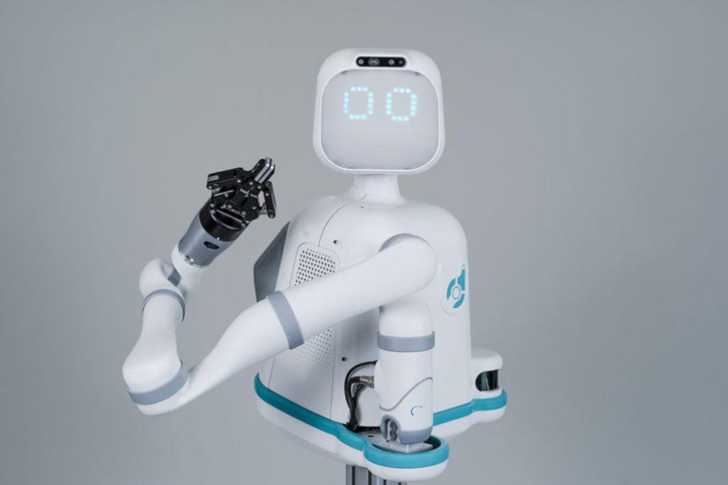 Moxi Robot waist up