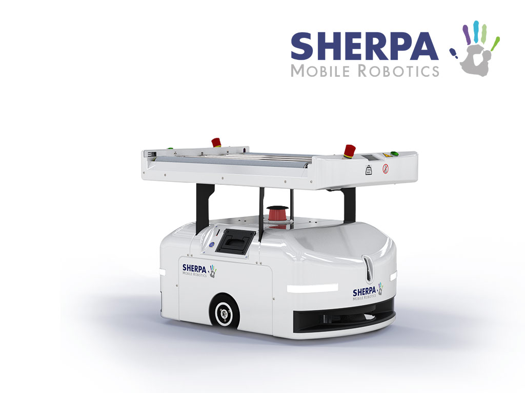 Sherpa bin moving robot