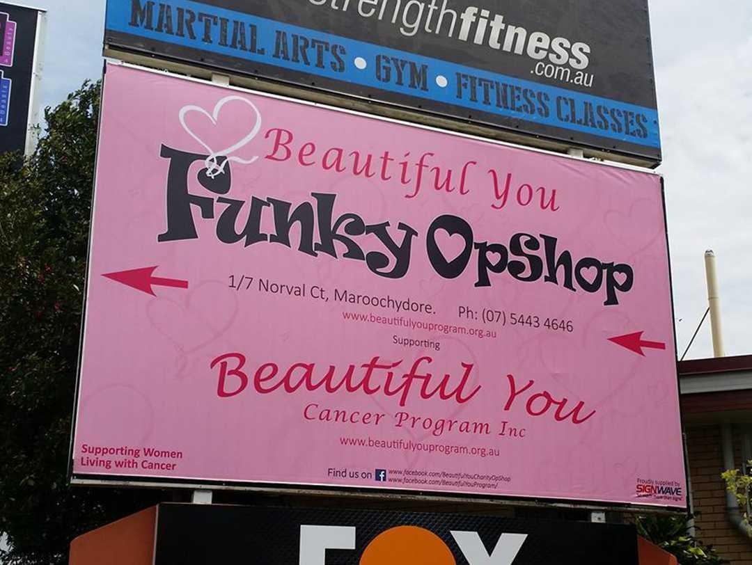 Beautiful You Sign Design