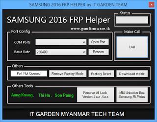Samsung 2016 FRP Helper by [It Garden Team]
