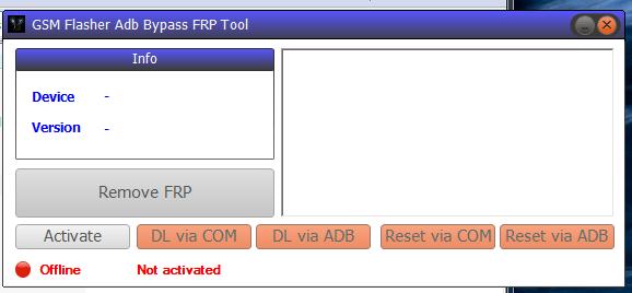 GSM Flasher ADB Bypass FRP Tool Pro 2018