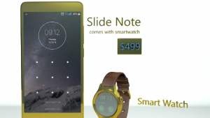 Astro Slide Note