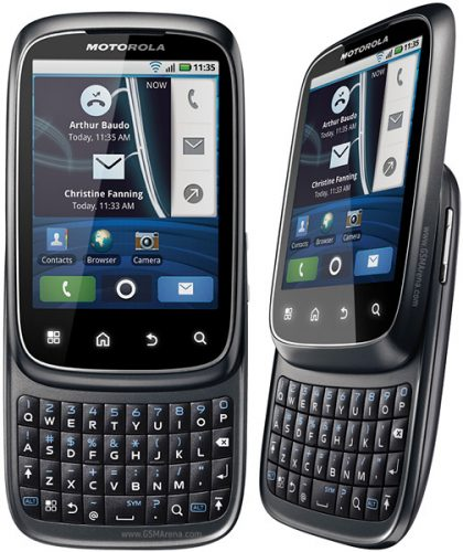 Motorola Spice XT300 Android 2.1 Eclair Firmware Flash File