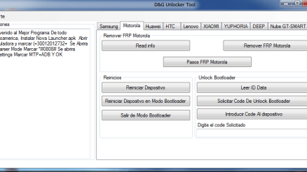 D-G FRP Unlocker Tools 2016