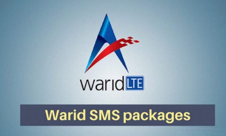 Photo of Warid SMS Packages