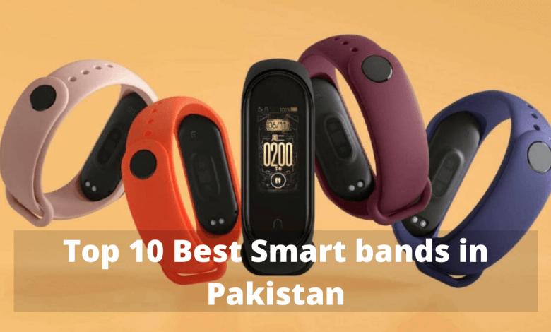 Photo of Top 10 Best Smart bands in Pakistan