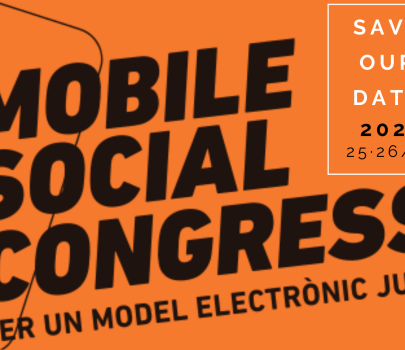 Give us a helping hand in the organization of the Mobile Social Congress 2020