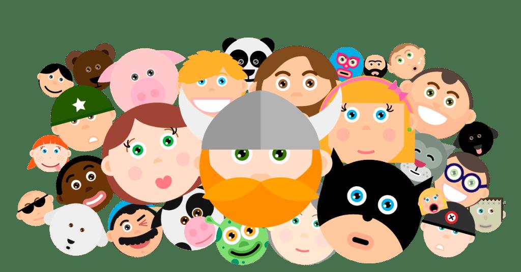 all avatars in quizit