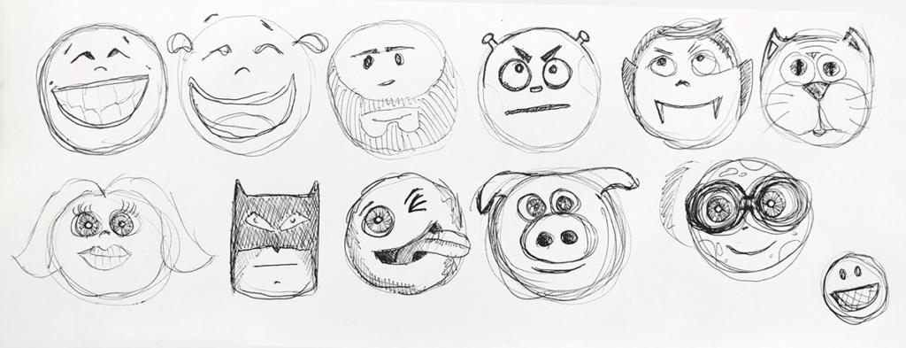 quizit new avatars sketch