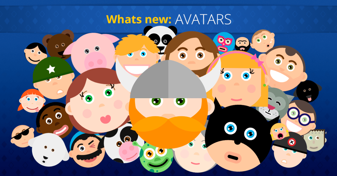 What's new on Super Quiz and Millionaire games - Avatars