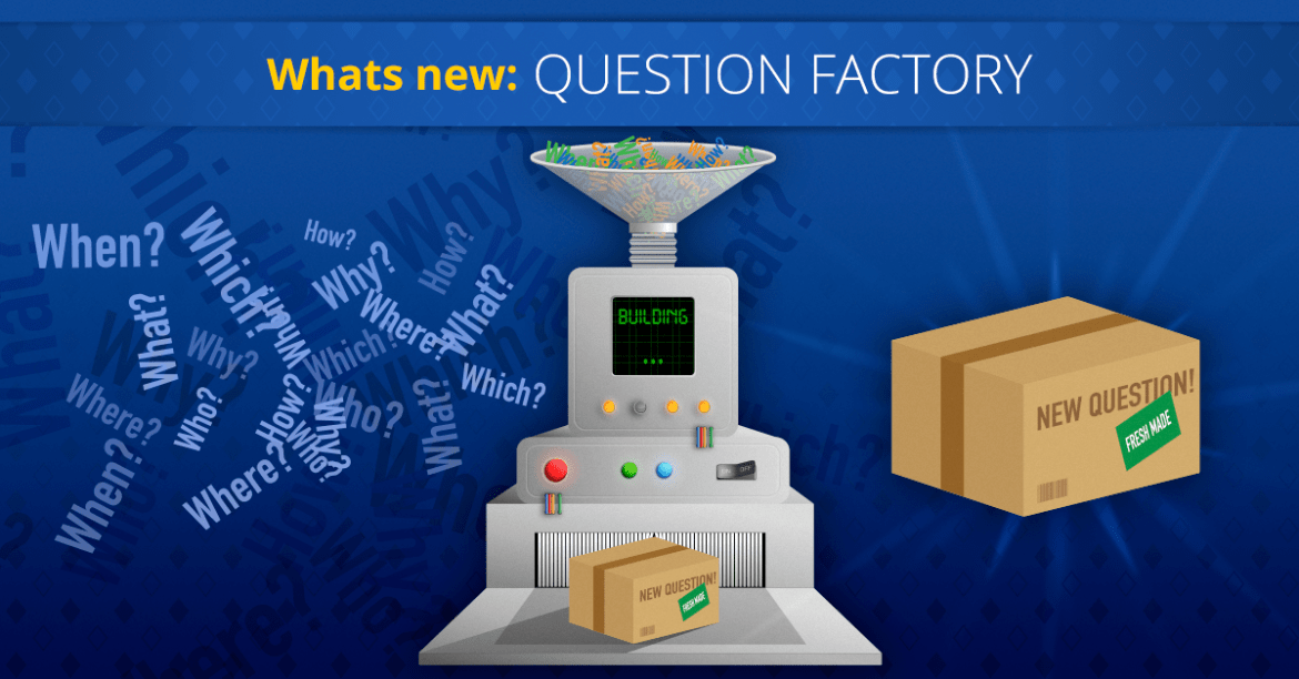 What's new on Super Quiz and Millionaire games - Question Factory