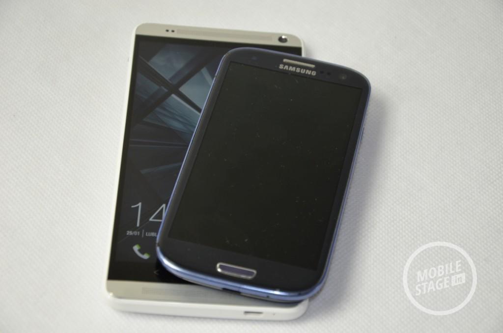 HTC One Max i Samsung Galaxy S III