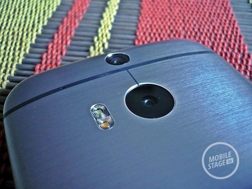 HTC One M8 kamery