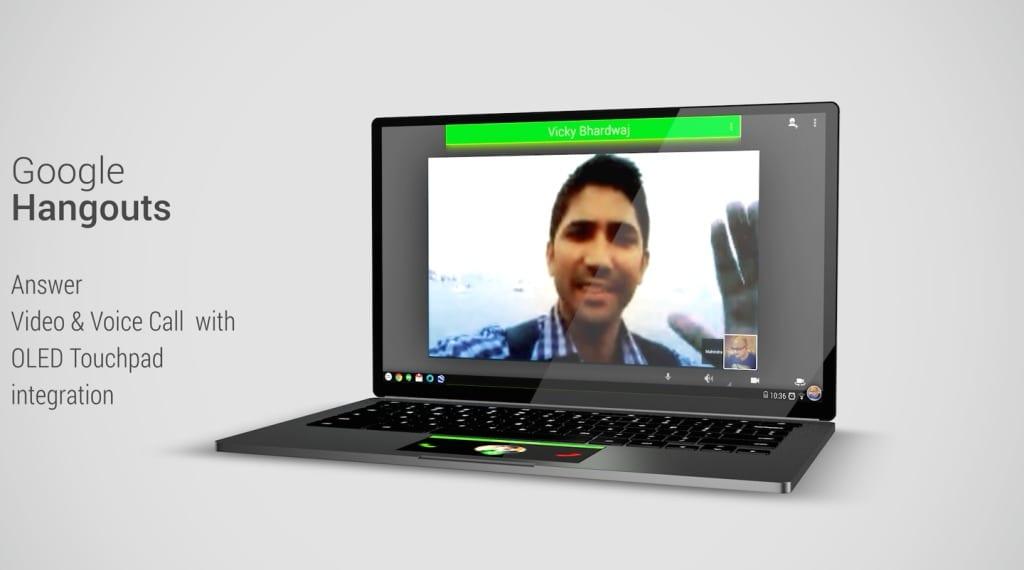 Chromebook Fusion Hangouts