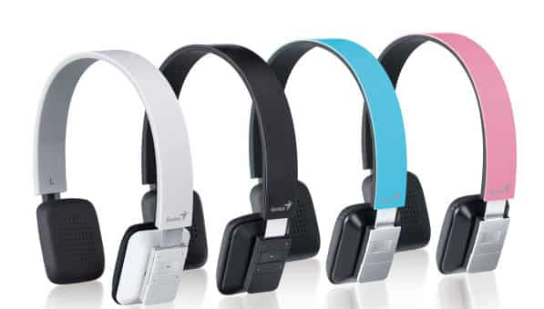 Genius z ultracienkimi słuchawkami Bluetooth