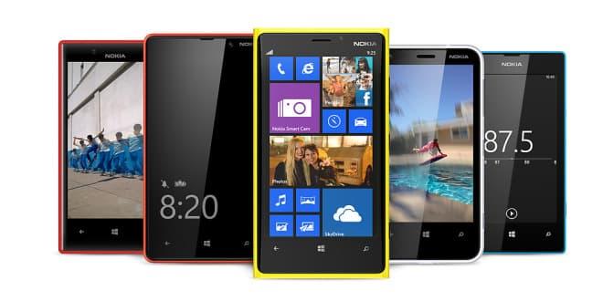 Wyciekła lista aktualizacji Nokia Lumia do Windows Phone 8.1