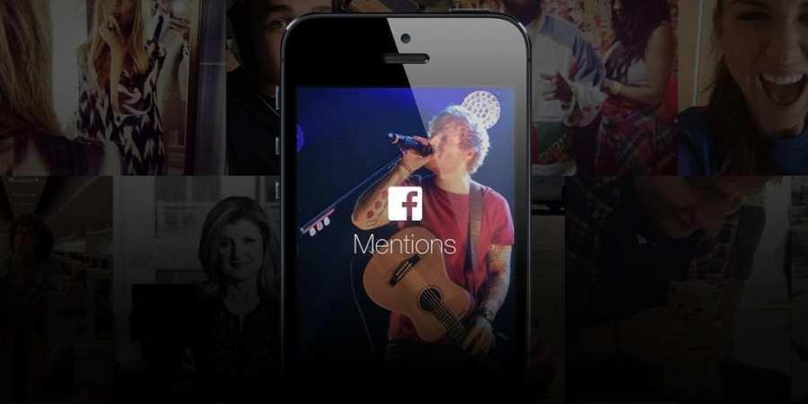 Facebook Mentions – nowa aplikacja dla osób publicznych