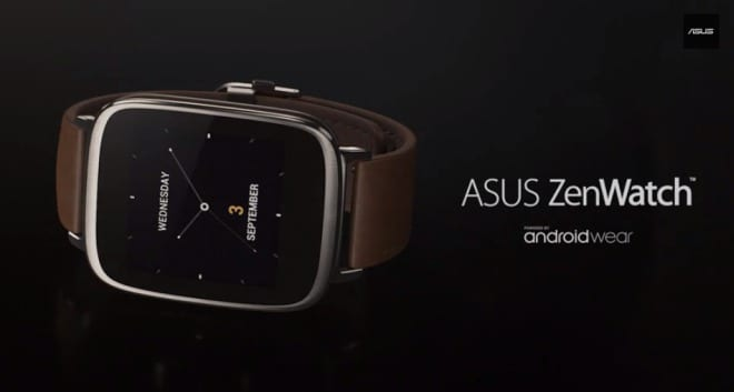 [IFA 2014] ZenWatch – smartwach od ASUS z Android Wear