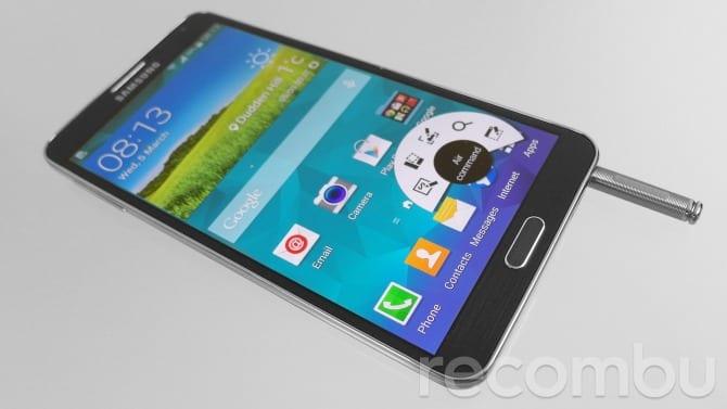 Samsung Galaxy Note 5 z ekranem 4K?