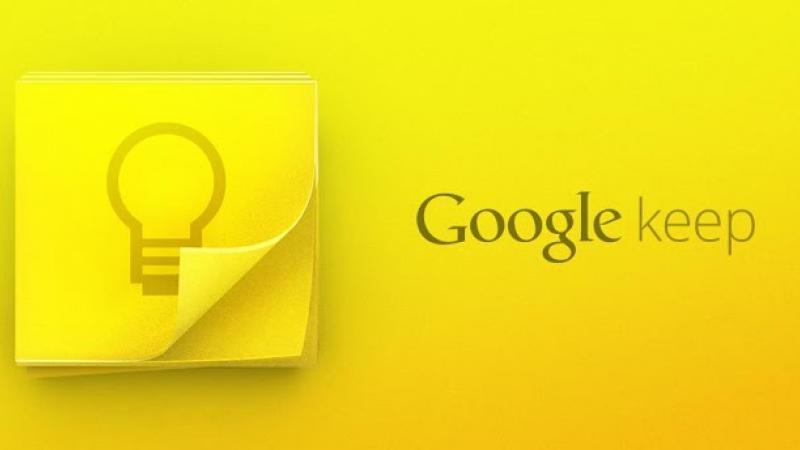 Google Keep – kolejna aplikacja z Material Design