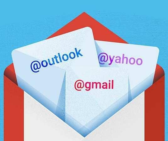 Najnowszy Gmail obsłuży każde konto pocztowe