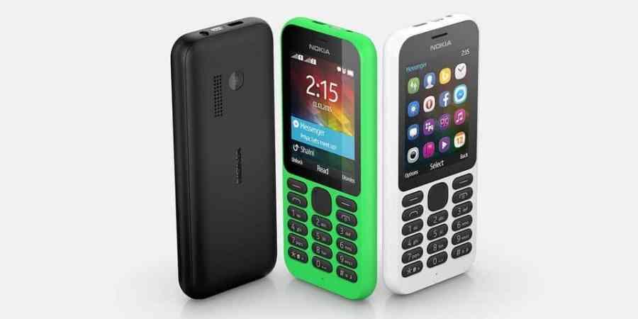 Nokia 215 – tani, klasyczny telefon fińskiego producenta