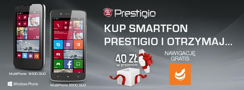 Prestigio z promocją na smartfony z Windows Phone