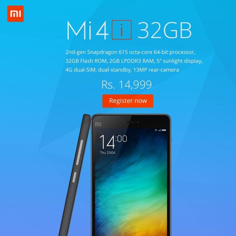 Xiaomi Mi 4i 32 GB