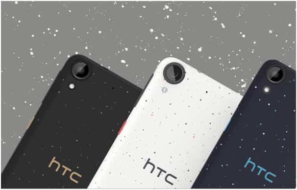 HTC Desire 530 i 825 – smartfony ze zdobieniem Micro Splash