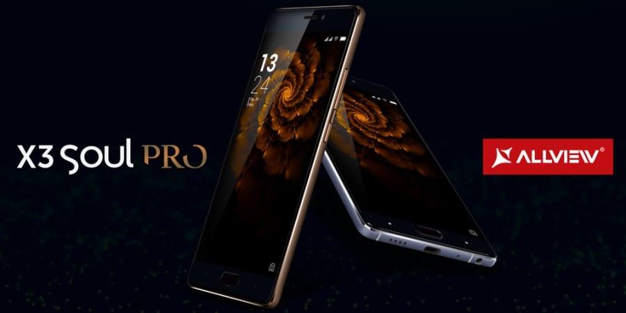 Allview X3 Soul PRO – elegancja i wysoka wydajność.