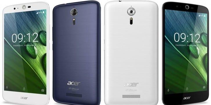 Acer zaprezentował smartfona z ekranem o przekątnej 5,5″