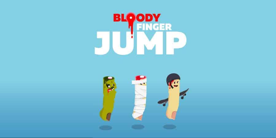 Bloody Finger JUMP – Recenzja gry z urwanym paluchem w roli głównej