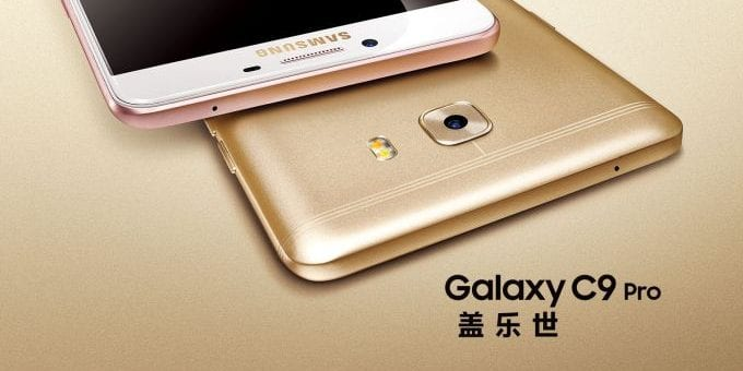 Samsung Galaxy C9 Pro – premiera, specyfikacja techniczna