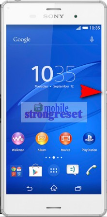 How To Hard SONY Xperia Z3 D6603 mobile strong reset